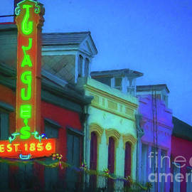 Tujagues Nola Sign and Facades by Kathleen K Parker