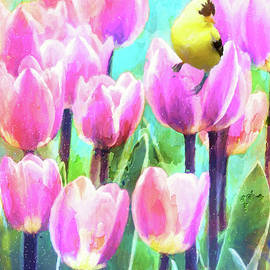 Tulip Explosion by Tina LeCour