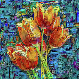 Tulips 1a by Stefano Menicagli