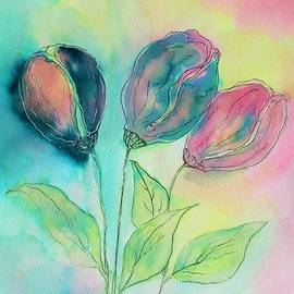 Tulips For Cate by Barbara Chichester