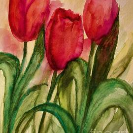 Tulips of Spring by Deb Stroh-Larson