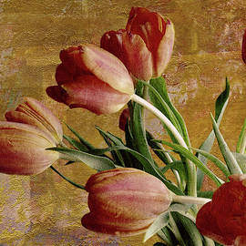 Tulips With Texture by Bellesouth Studio