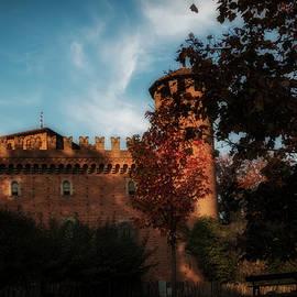 Autumn at the Medieval Castle Turin Italy by Rita Di Lalla