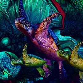 Turtles en Saison 6 by Aldane Wynter