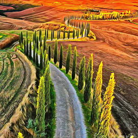 Tuscany by Yorgos Daskalakis