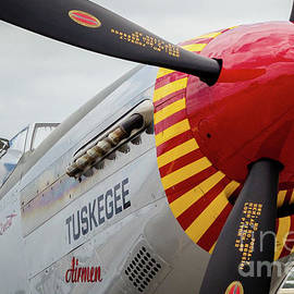 Tuskegee Airmen P-51 Air Force by Rene Triay Photography