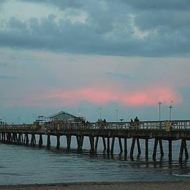 Twilight at Lauderdale By The Sea by Dora Sofia Caputo