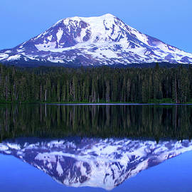 Twilight, Mount Adams by Douglas Taylor