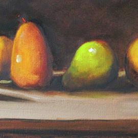 Twilight Pears by Nancy Merkle