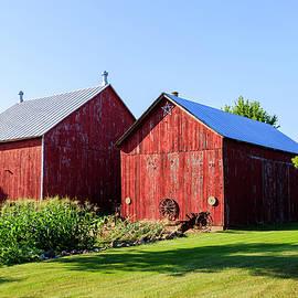 Twin Barns by Neal Nealis