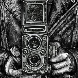 Twin Lens Square by Doug LaRue