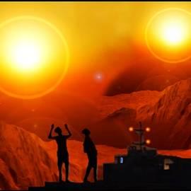 Twin Suns - Far away  by Hartmut Jager