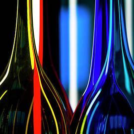 Two Glass Vases. by Alexander Vinogradov