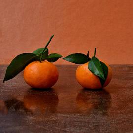 Two mandarins by Elena ZapasskyBaal