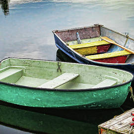 Two rowboats in Nova Scotia by Tatiana Travelways