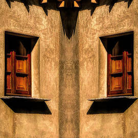 Two Windows Facing Each Other by Mike Nellums