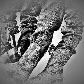 Two Young Cowboys by Elizabeth Pennington