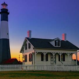 Tybee Lighthouse Sunset by Norma Brandsberg