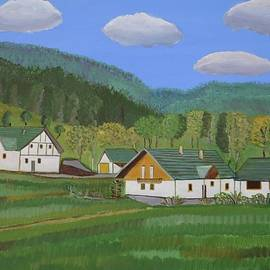 Tylamnowa Village Poland by Magdalena Frohnsdorff