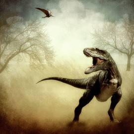 Tyrannosaurus Rex - T Rex - Dinosaur by James DeFazio