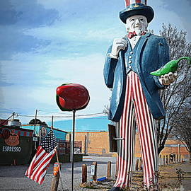 Uncle Sam with Peppers by Tru Waters