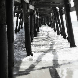 Under San Clemente Pier by Glenn McCarthy Art and Photography