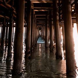 Under the boardwalk by Christopher J Sweet