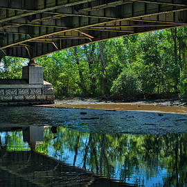 Under the Bridge at Roosevelt Island #2 by Stuart Litoff