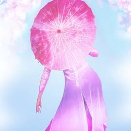 Under the Cherry Blossoms by Chrystyne Novack