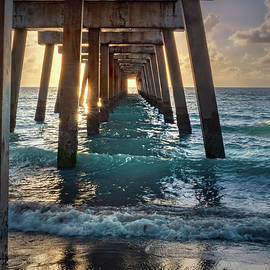 Under The Juno Pier by Rebecca Herranen
