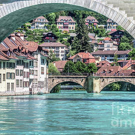 under the Nydegg bridge in Bern by Michelle Meenawong