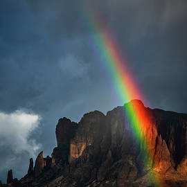 Under The Supes Rainbow  by Saija Lehtonen