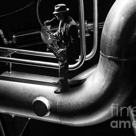 Underground Musician by Bob Christopher