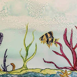 Underwater by Mary Cacciapaglia