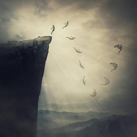Unfold Your Wings In Flight by PsychoShadow ART