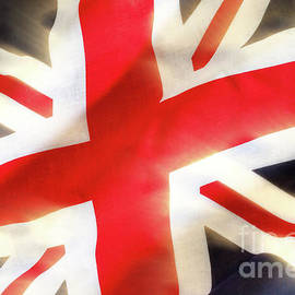 Union jack flag waving in the wind by Simon Bratt Photography LRPS