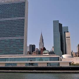 United Nation Headquarters by Christopher James