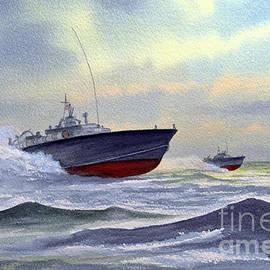 United States Navy Patrol Torpedo Boats  by Bill Holkham