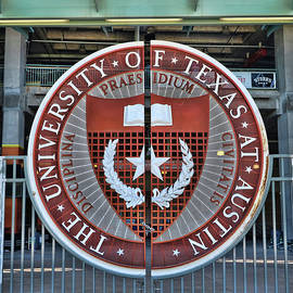 University of Texas Seal - Texas Memorial Stadium by Allen Beatty