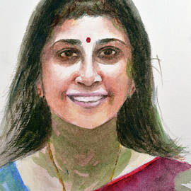 Unknown woman 19 by Uma Krishnamoorthy