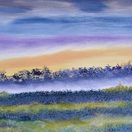 Up and Coming Sunrise Painting by Warren Thompson