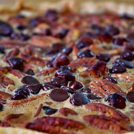 Up Close Look at Pecan Pie by Carolyn Sheridan