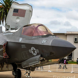 Up Close With A F-35B Stealth Fighter by Joe A Kunzler
