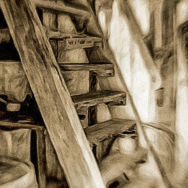 Up the Stairs by Kathi Isserman