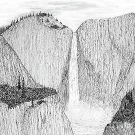 Upper Yosemite Falls by Ed Moore