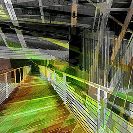 Urban Abstract 1176 by Don Zawadiwsky