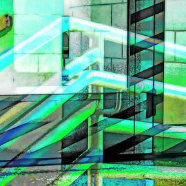 Urban Abstract 1202 by Don Zawadiwsky
