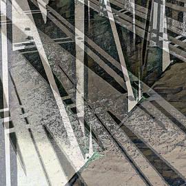 Urban Abstract 1257 by Don Zawadiwsky
