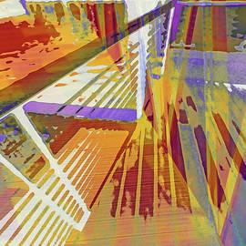 Urban Abstract 1261 by Don Zawadiwsky