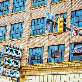 Urban Garage Monthly Parking Only by Janice Pariza